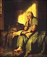 St Paul writing